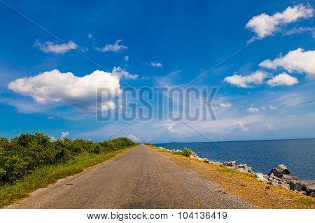 Cayo Jutias beach in the northern seaside of Cuba poster