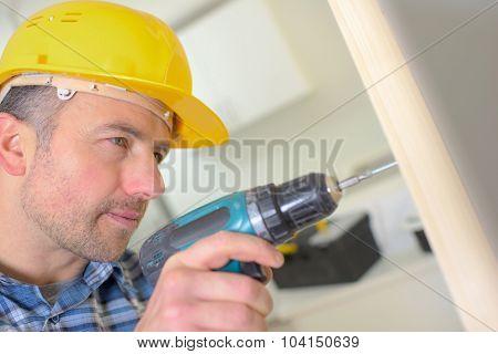 Carpenter drilling