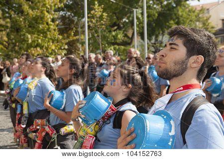 GUIMARAES, PORTUGAL - October 30: