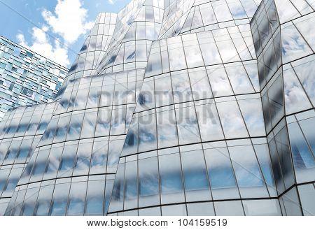 Facade Of IAC Building in New York