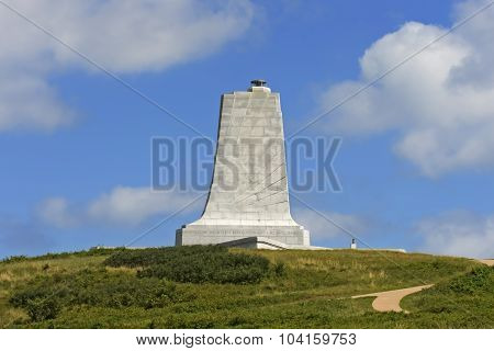 Wright Brothers Monument Side View