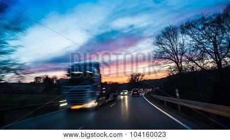 Commute at night