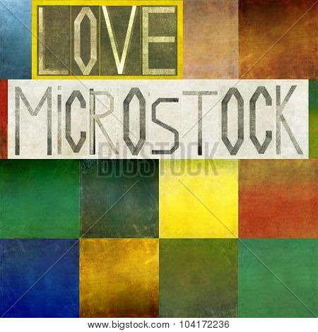 Love microstock