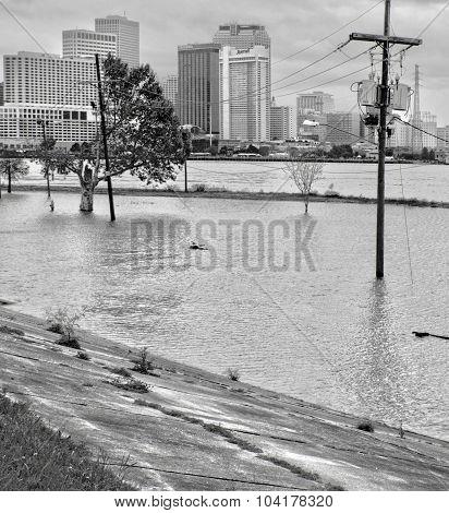 Old Algiers After Hurricane Katrina