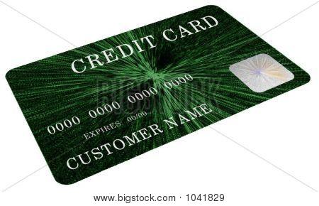 Mock Green Credit Card 2