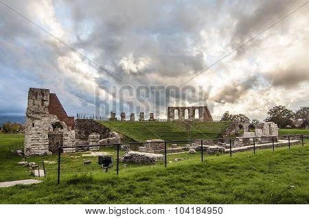 Gubbio amphitheatre