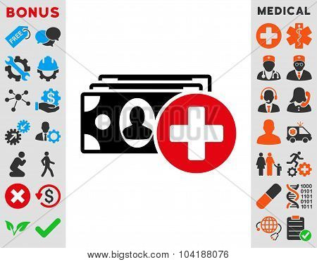 Medical Expences Icon