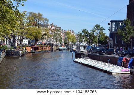 Canal in Amsterdam