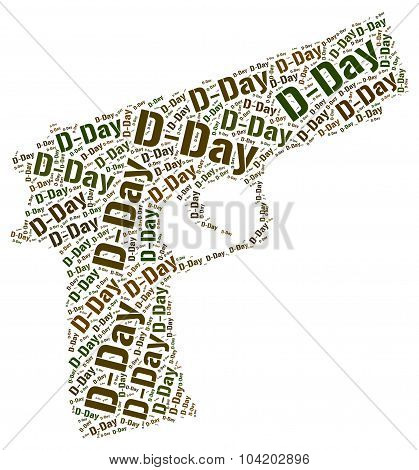 War Wordcloud Means Military Action And Battle