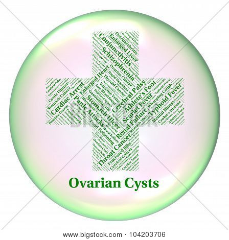Ovarian Cysts Indicates Poor Health And Affliction