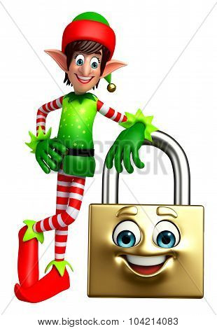 Elves With Lock