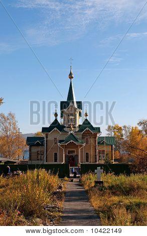 St Nicholas Church near Slyudyanka station