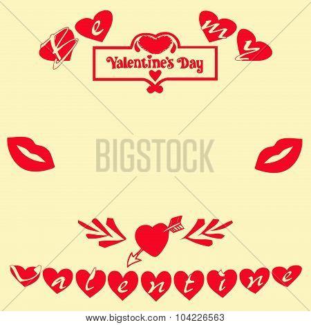 Valentine's Day Card Square