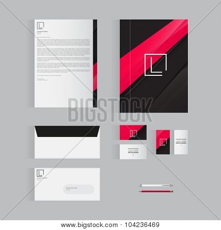 Modern Stationery Template Design for Your Business | Vector Design