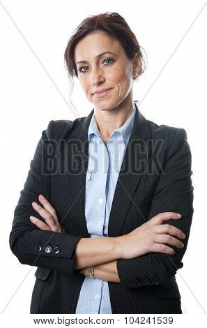 middle aged businesswoman