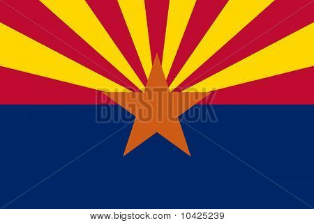 Arizona State flagga