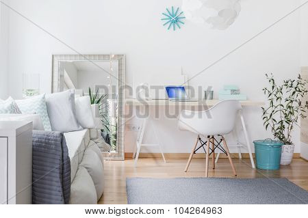 Bright Nook With Desk