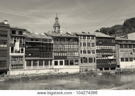 View Of Balmaseda, Bizkaia, Basque Country, Spain
