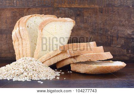 Gluten Free Rice Sour Dough Bread