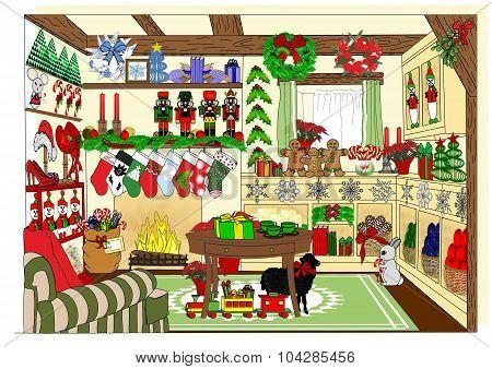 The Village Christmas Shop