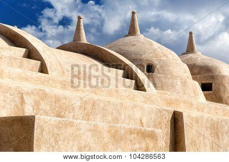Jami Al-hamoda Mosque In Jalan Bani Bu Ali, Sultanate Of Oman