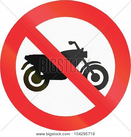 No Motorcycles In Chile