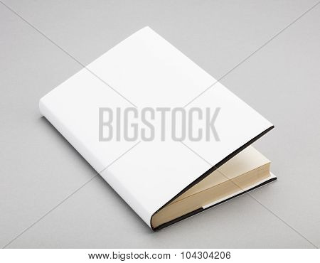 Blank Book White Cover 5,5 X 8 In