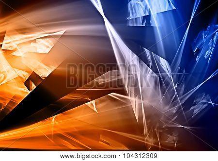 Abstract Broken Design Background