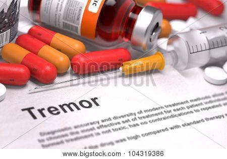 Tremor - Medical Concept. 3D Render.