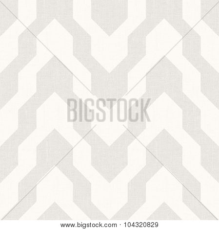 Pattern With Zig Zag In Beige Color