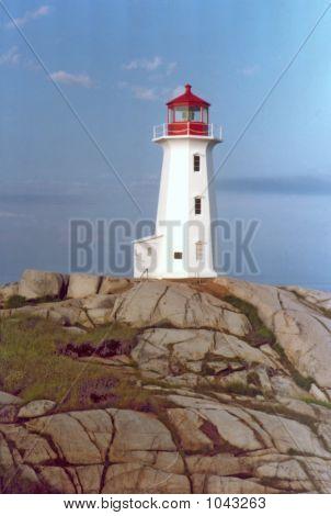 Peggys Cove Lighthouse V
