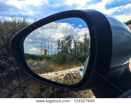 Defensive Tower From Car Mirror
