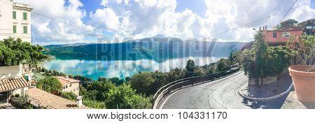 Lake Of Castel Gandolfo 2