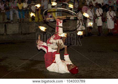 Esala Perahera: the buddhist festival in Kandy, Sri Lanka, 2015.