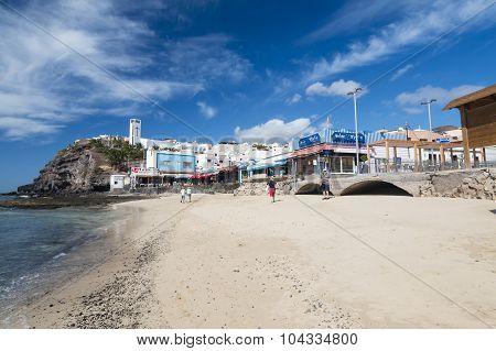 Morro Jable In Fuerteventura, Spain, Editorial