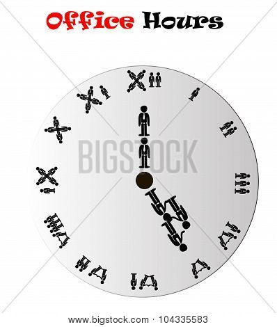 Evening Office Hours Conceptual Clock