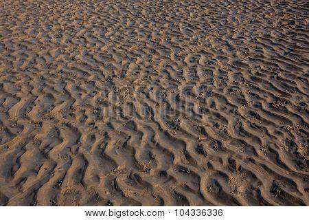 Ripples On The Beach