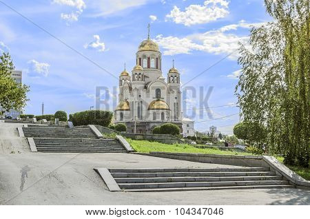 Church on Blood in Honour of All Saints Resplendent in the Russian land - Ekaterinburg, Russia