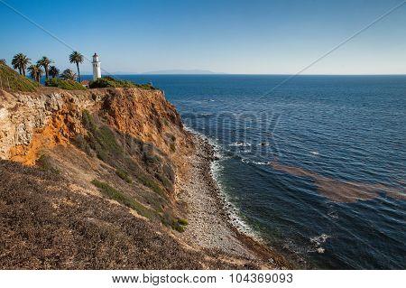 Point Vicente Lighthouse. Rancho Palos Verdes, California, USA.