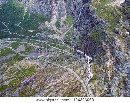 Trollstigen From Above