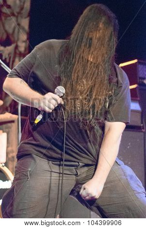 Cannibal Corpse live at The Hifi in Brisbane