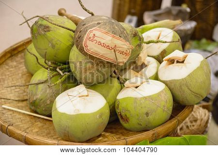 Coco Nut Culture Of Thailand