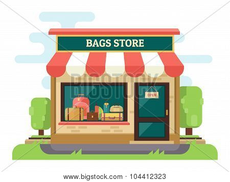 Bags and suitcases store