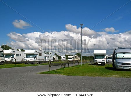 Holidays with a motor home