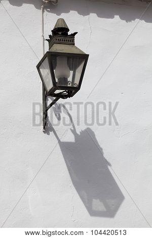 Streetlamp In Cordoba, Andalucia, Spain