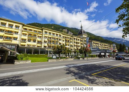 Victoria Jungfrau Grand Hotel & Spa In Interlaken