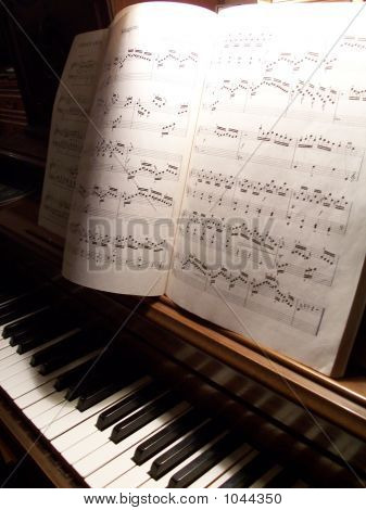 Piano With Music