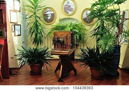 The Interior Of Museum-photosalon Of Karl Bulla On Nevsky Prospect In Saint-petersburg, Russia