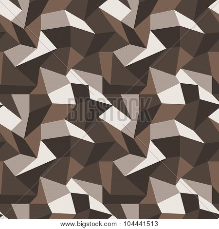 Seamless pattern with multi-colored quadrangles