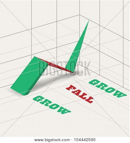 Simple infographic vector illustration